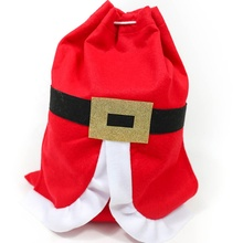 Xmas felt red christmas gift pouch 백 hours. thanks free samples