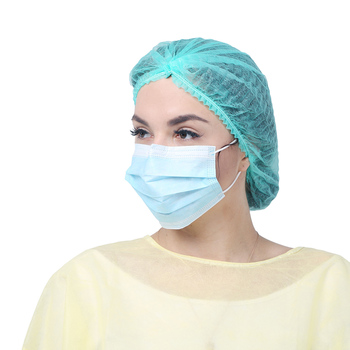 3 Ply Custom Cleanroom Medical Disposable Face Mask For Food Production