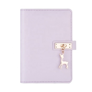 Guaranteed quality unique decorative diary multifunction creative pu notebook