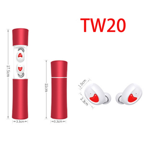 New coming wireless bluetooth headset TW20 Twins Binaural Portable Sports bluetooth headphone original