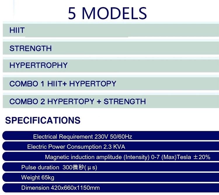body slim building machine muscle ems body sculpting /2021 newest Portable hiemts machine body sculpt