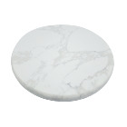 chinese supplier manufacturing high-quality round natural marble rotatable tray