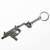 China Manufacturer Upgraded Mini 3D Metal Weapon Keychain Vector Gun For Man