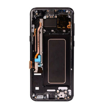 factory price lcd for samsung s8 lcd screen with frame assembly