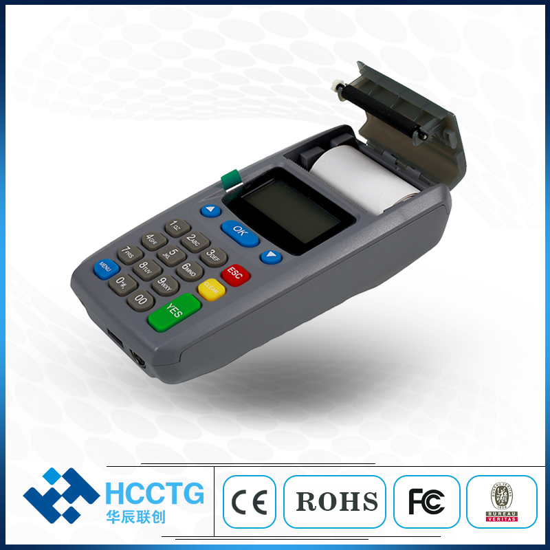 GPRS Lightweight Ergonomic Design Desktop or Handheld EFT POS Terminal with Thermal Printer M100