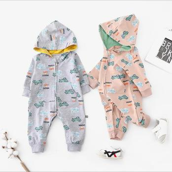 Toddler baby clothing breathable snap button baby wear sleepsuit jumpsuits romper
