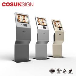 ดีออกแบบดิจิตอลหน้าจอโฆษณาผู้เล่น Kiosk ยาวชีวิต