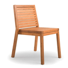Colma chair in modern design outdoor garden furniture sets bamboo dining chairs