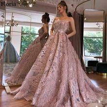 Роскошное платье знаменитости с бисером 2020, длинное платье-трапеция для выпускного вечера, вечерние турецкие вечерние платья(Китай)