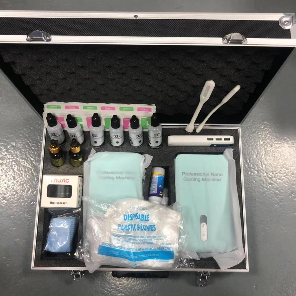 English Version Multi Functional Waterproof Mobile Phone Nano Coating Machine for Screen Coating For Street Vendors Make Money