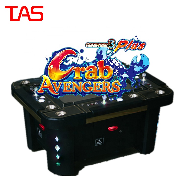 Hoge Holding Populaire Ocean King 3 Plus Krab Avengers Casino Fish Game Met Sleutel In