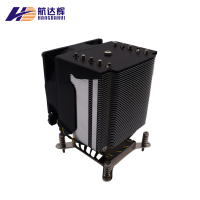 Tower copper tube cooler intel 1366 2011 with 90MM 12V heatsink PWM CPU cooling fan