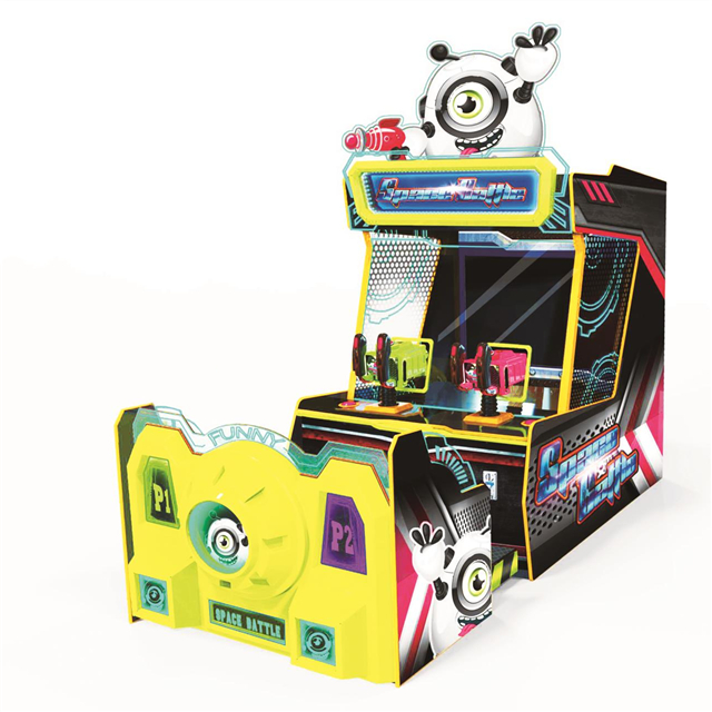 2 Players Shooting Ball Electronic Video Arcade Redemption Ticket Games Machine For Amusement Park