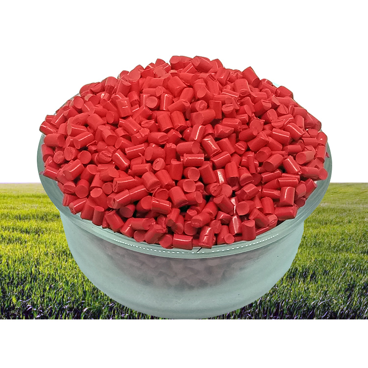 Manufacturer Customized PE / PP / PVC / ABS / <strong>EVA</strong> / LDPE /HDPE /HIPS Briht Red Masterbatch for Injection Molding and Blown Film