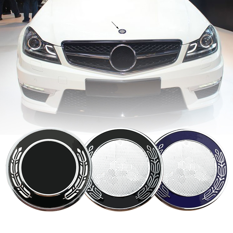 57mm Car Hood Emblem Badge Bonnet Emblem For mercedes For w124 w140 w163 w202 w203 w204 w210 w211 57mm A2048170616