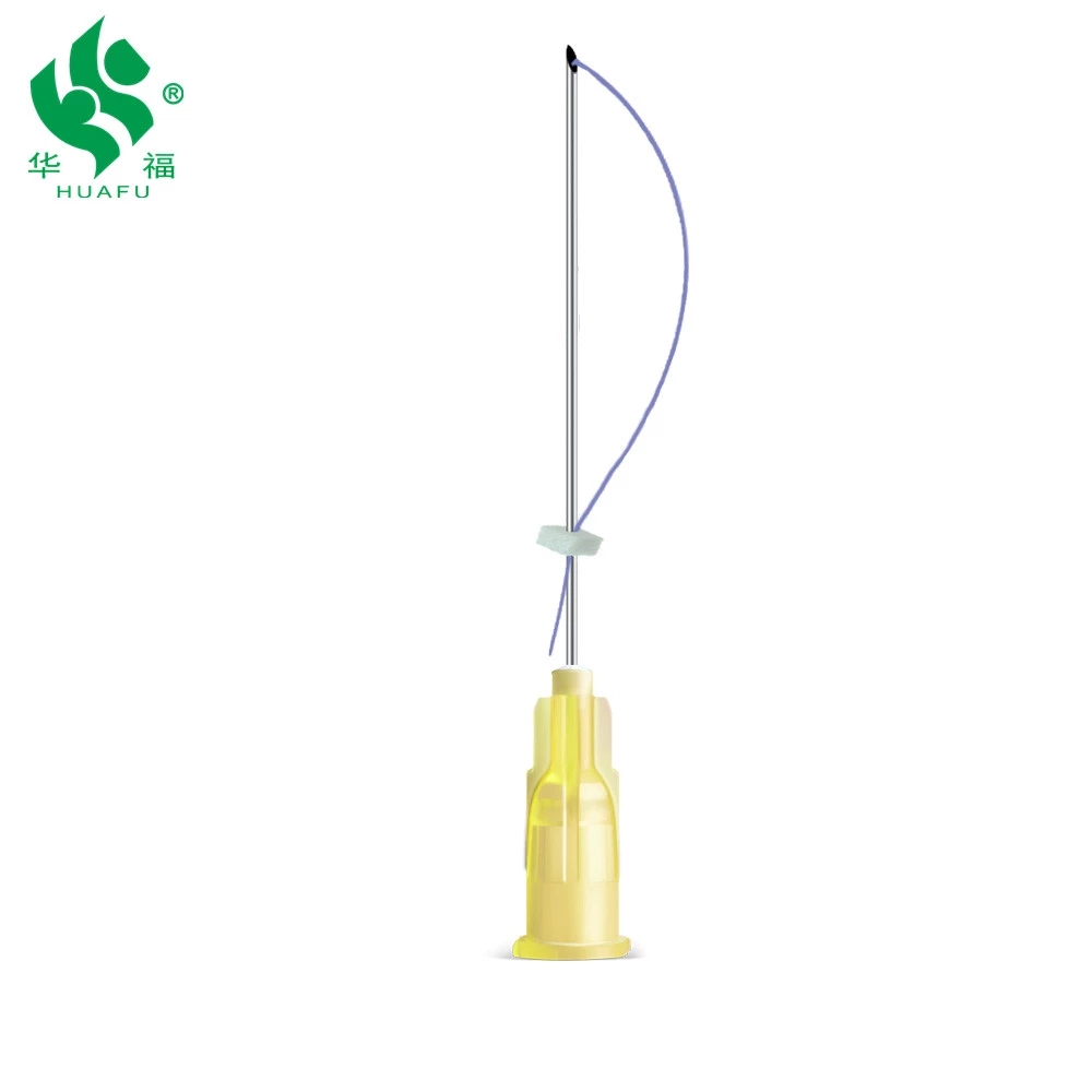 Disposable Beauty Cosmetic Blunt tip Micro cannula needle for fillers