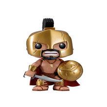 FUNKO POP популярный фильм Спарта 300 King LEONIDAS 16 #, виниловая коллекция фигурок, модель, игрушки для детей, рождественский подарок(Китай)