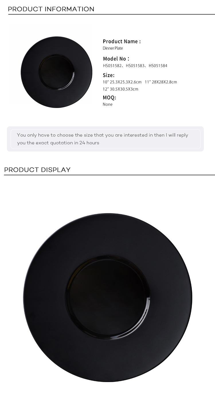 28ceramics Scratch Proof Sushi Plate Black, Ceramic Black Stone Plate,  Speciality Restaurant Black Plates Set*