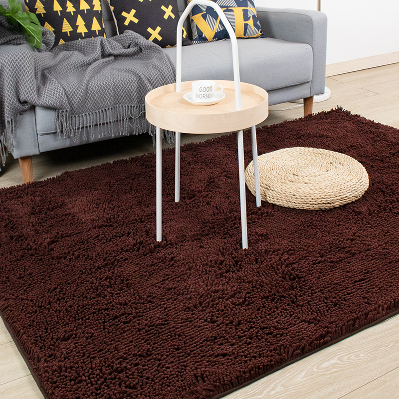 New Design Plain Grey Large Shaggy Area Rug Bedroom Floor Carpet Decorating 5x8ft for Bedroom Dorm