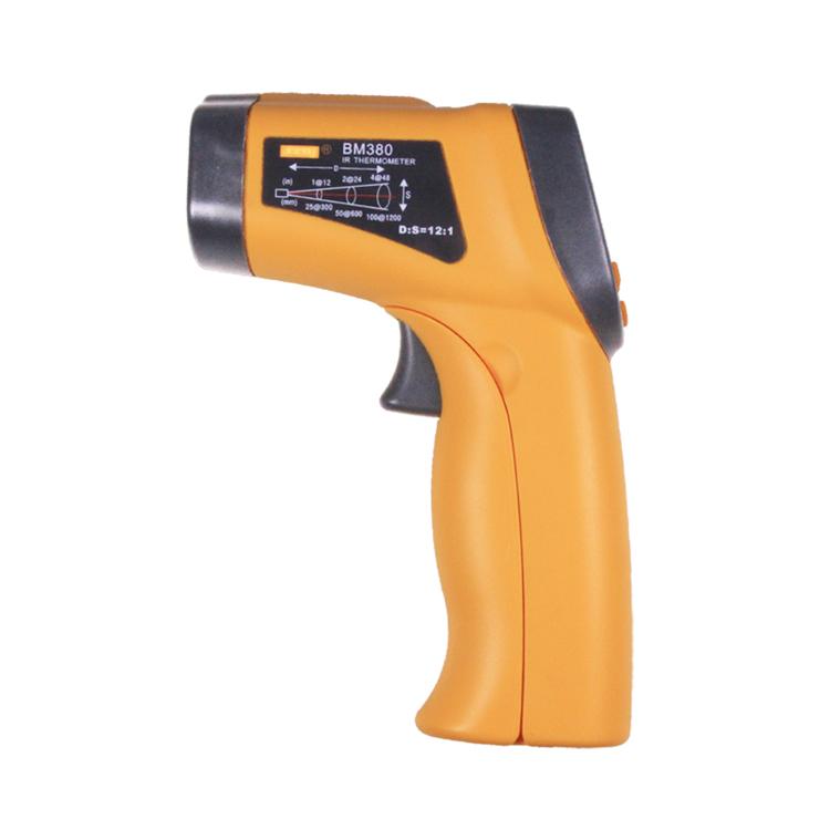 BM380 -32~550 degree Celsius Emissivity adjustable Non-contact digital laser infrared thermometer - KingCare | KingCare.net