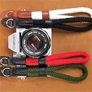 Vintage Cotton Soft Hand Strap Grip Camera Wrist Strap for DSLR / SLR Cameras Nikon d750