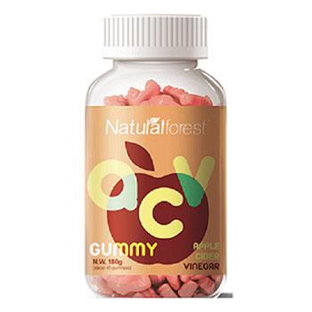 YICHAO OEM Suplemen Makanan Vegan Gummy Vitamin Kecantikan Kulit Cuka Sari Apel Penurunan Berat Badan Gummy