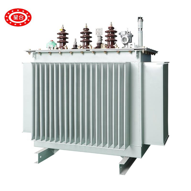 SH15 tipo 2500KVA/6 3kv/400v aceite de inmersión transformador amorfo núcleo de aleación de transformador de potencia