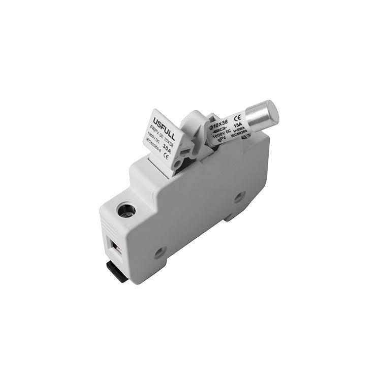 CE Солнечная энергия применение DC предохранитель fuze 1P 1000V 10*38mm 15A 30A dc предохранитель для pv системы