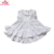 2019 Ruffles baby girls dress high quality high low top latest dress designs girl solid pink dresses