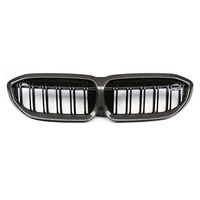 Car styling G20 Grill New 3 series Glossy Black Carbon fiber Grille For BMW G20 2019