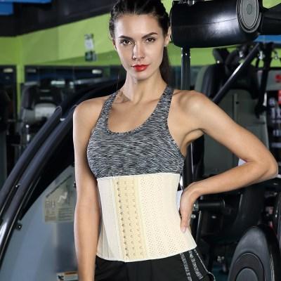 Qualidade superior Respirável 30cm altura Colombiano 25 ossos de aço trainer cintura