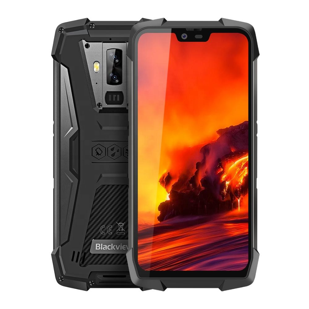 Neue Entsperrt Blackview BV9700 Pro Smartphone 6GB 128G Robuste Android Octa Core Smartphone 5,84 zoll 2280x1080 FHD Bildschirm Android