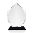 Glass Award Glass Plaque Trophy Wholesale Blank Glass Award Plaque Trophy For Custom Engrave Printing
