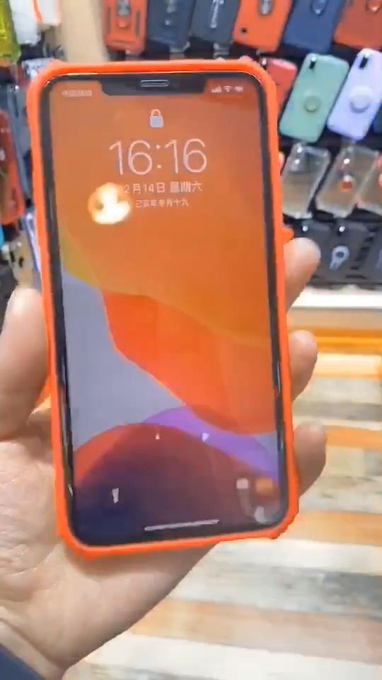 耐震透明な電話ケースiphone SE2 11プロx xs最大xr 6 6s 7 8プラス保護4s 12