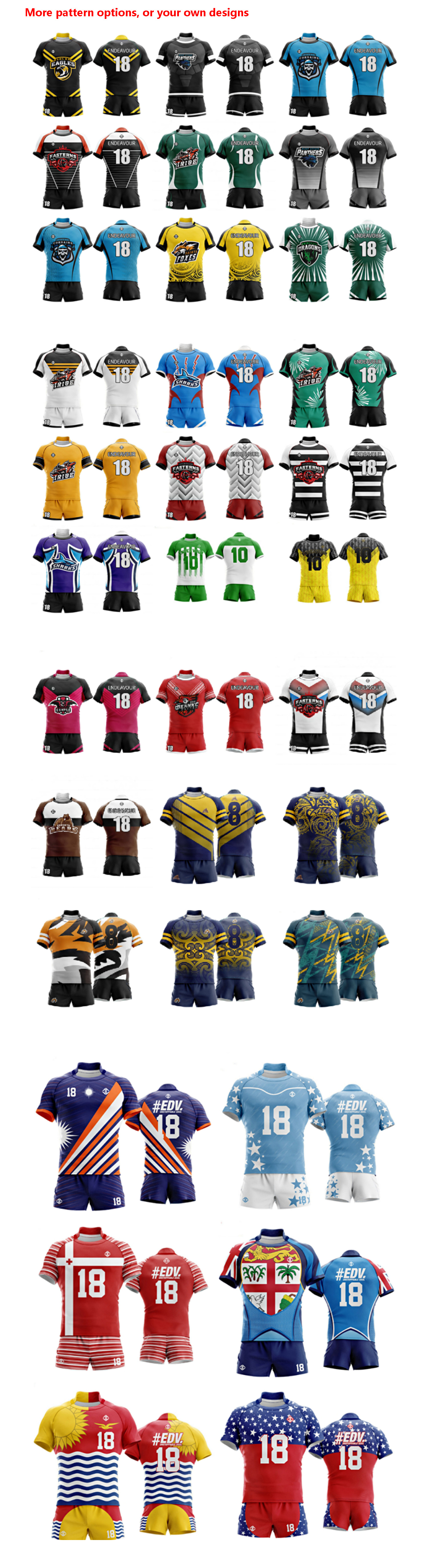Custom Sublimation Men's Official England Rugby Away Home Jersey Training Rugby Football Shirt Q-Dry Rugby Short Wear Custom