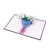 China Supplier Personalized Pop Up Card Flower Greeting Card  Gifts Card