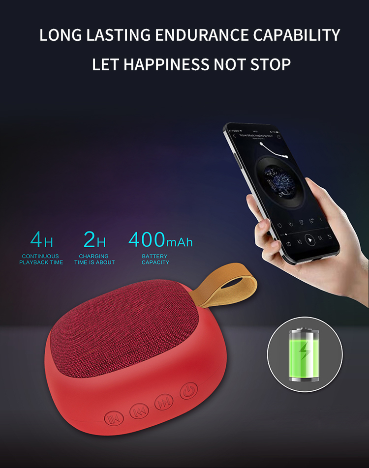 2020 CE FCC Super loud 10w multifuncional wireless cool outdoor mini music portable bluetooth speaker