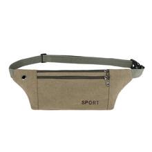 Поясная сумка Fanny, Спортивная уличная сумка на плечо, повседневная нагрудная сумка, Мужская Уличная нагрудная сумка, милая холщовая Повседн...(Китай)