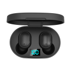 LED Display Headsets E6S TWS Wireless Bluetooth 5.0 Earphones 6D Stereo IPX5 Waterproof Mini Earbuds With Charging Case