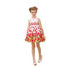 Fashion vietnam kids clothing modern girls evening dresses