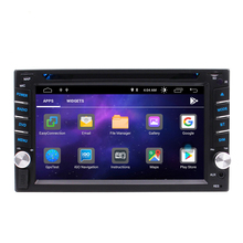 Quad-Core Android 10.0 GPS Mobil Radio Stereo Double Din 6.2 Inch GPS Multi-Touch Layar <span class=keywords><strong>DVD</strong></span> Player1080P video Cermin LINK Wifi