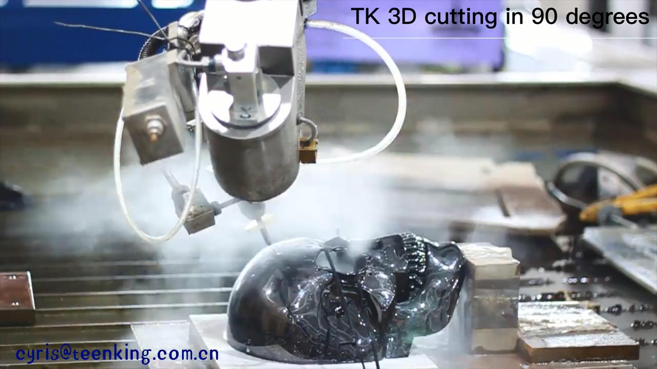 Glas wasser jet schneiden maschine preis