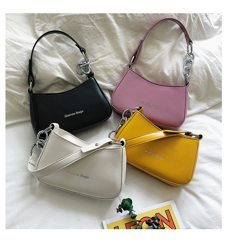 product-Osgoodway2 trendy cheap price PU leather women fashion underarm single shoulder bag girls pu