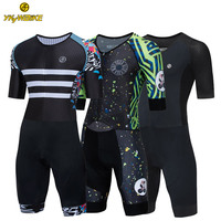 YKYWBIKE Wholesale Manufacture Custom High Quality Triathlon bike clothing Cycling Skin suit