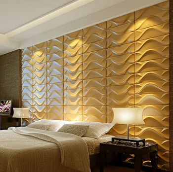 Home Decoration Simple PVC 3d Wall Panel