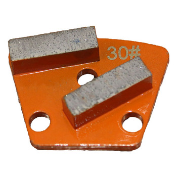Diamond concrete tool grinding segment trapezoid polishing disc