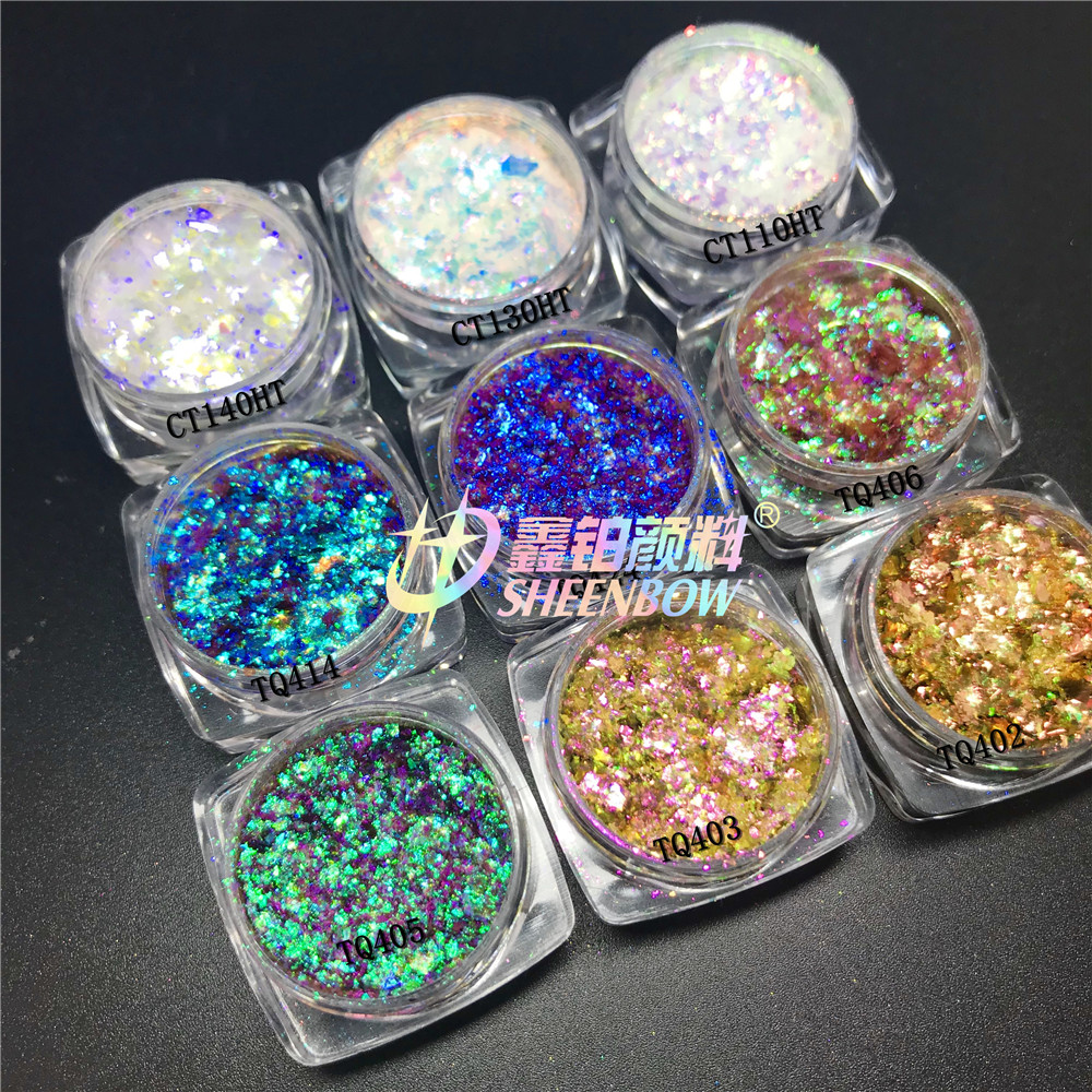 Chameleon flakes Pigment Eyeshadow for makeup