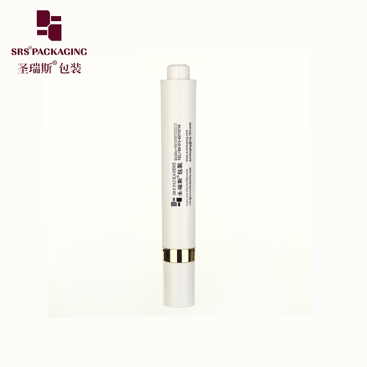 Wholesale 15ml eye care custom roll on bottle airless pressed serum roller ball massage applicator