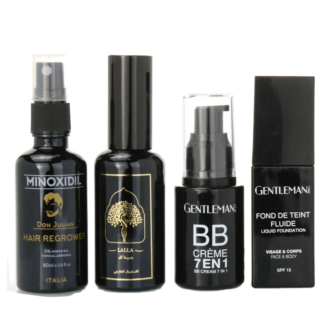 5ml Paper tube 10ml 15ml 20ml 30ml 50ml 100ml matte black essential oil serum glass dropper bottle with bamboo aluminum cap