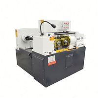 Ribbed16-40mm steel rod automatic threading rolling screw making machine
